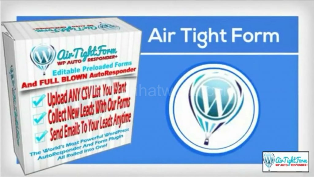 Air Tight Form WordPress Plugin