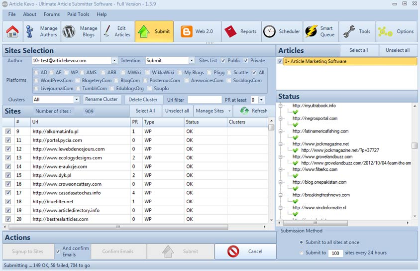 Article Kevo 1.70 Software Free