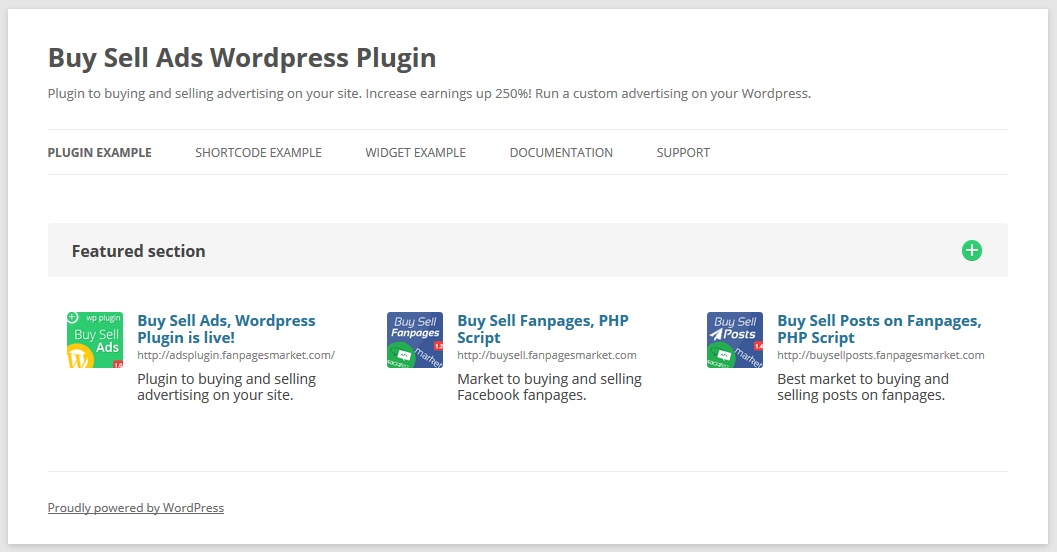 Buy Sell Ads 2.7.1 WordPress Plugin