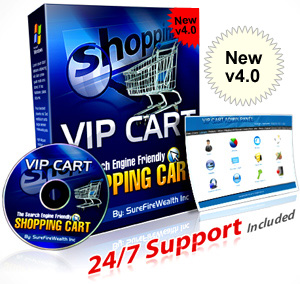 Download VIP Shopping Cart Software 4.0 Free