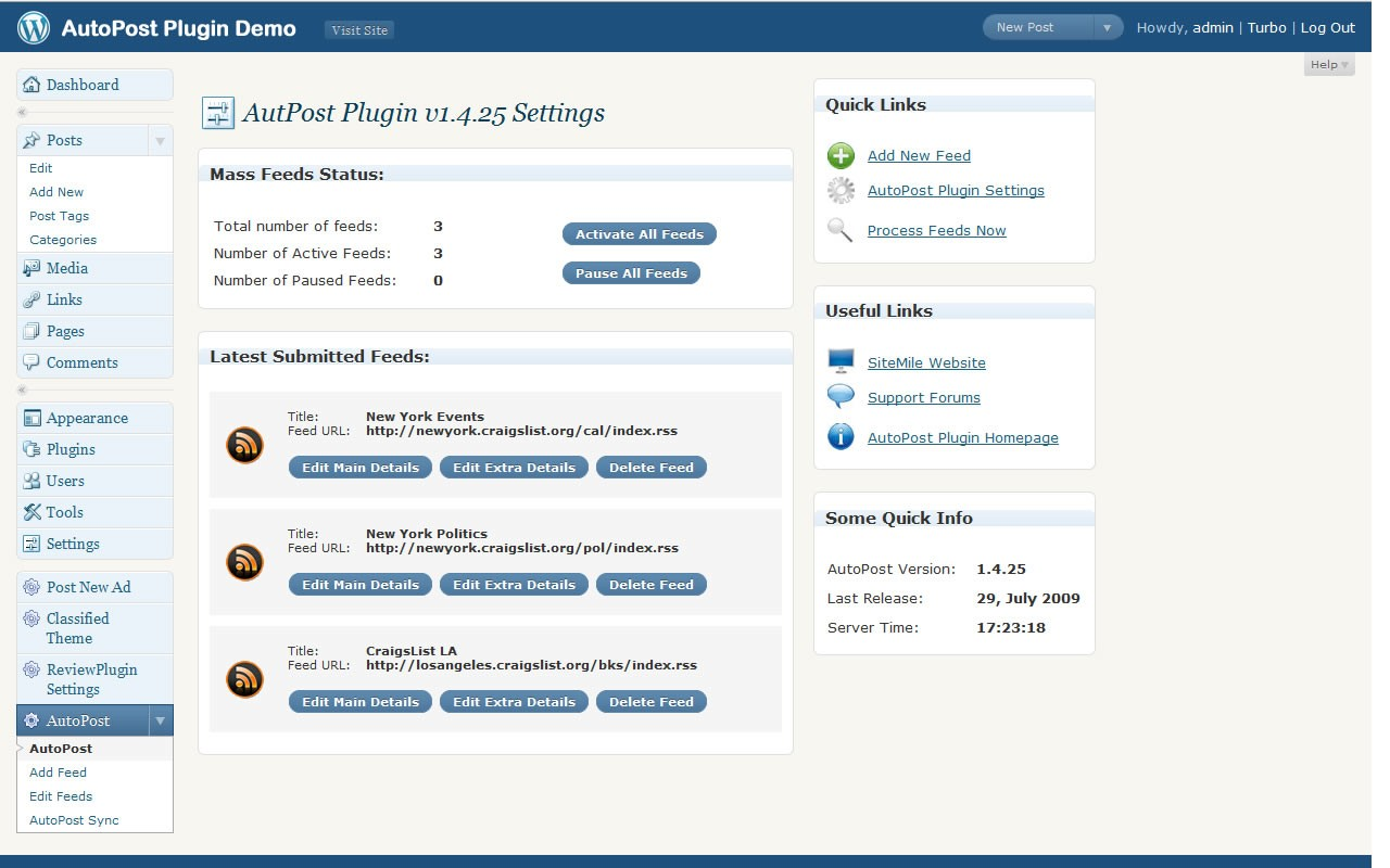Download WP Auto Post Pro Plugin 3.5 Free