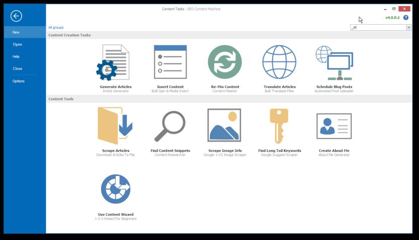 SEO Content Machine 4.0 Software