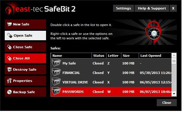 east-tec SafeBit 2 Hard Disk Encryption Software
