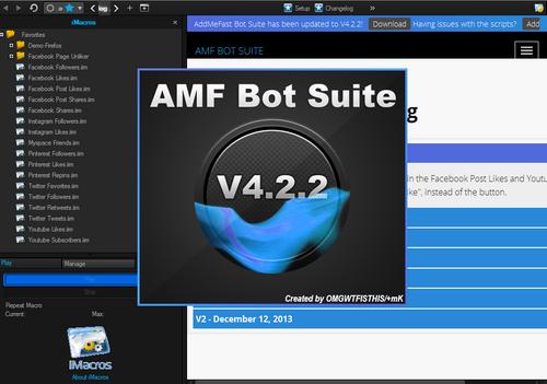 Addmefast Bot Suite 4.2.2