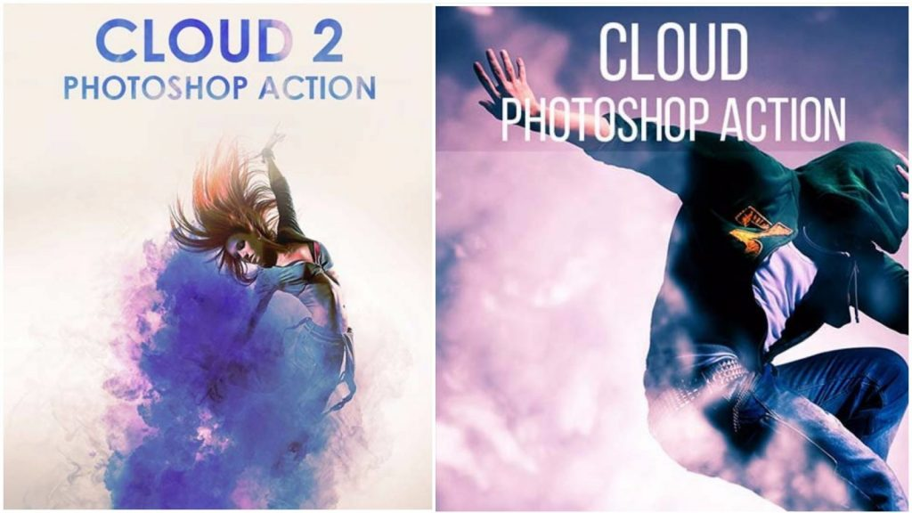 Download Cloud 2 Photoshop Action Free