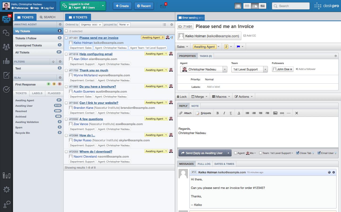 Download Deskpro 4.0 Software Free 1