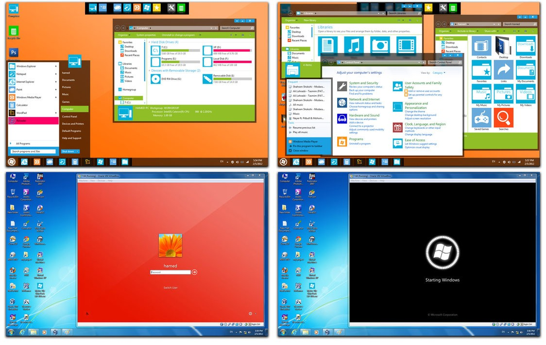 Download Windows 9 Skin Pack Free - Ghw Download