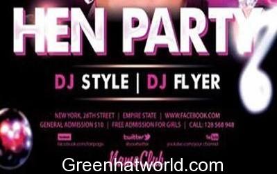DJ Party Flyer Template PSD 1