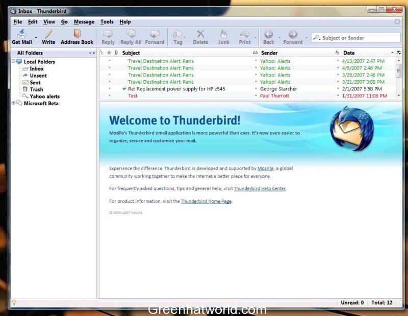 Download Thunderbird 45.0 Beta 2 Software Free