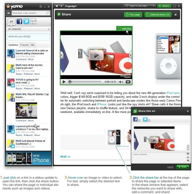 Download Yoono Desktop 1.8.44 Software Free