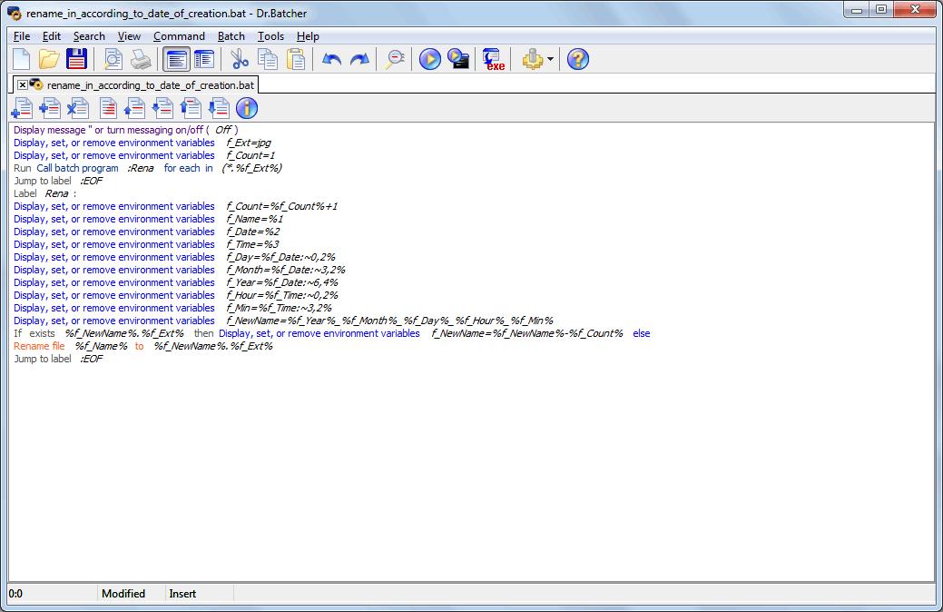 Dr Batcher Software