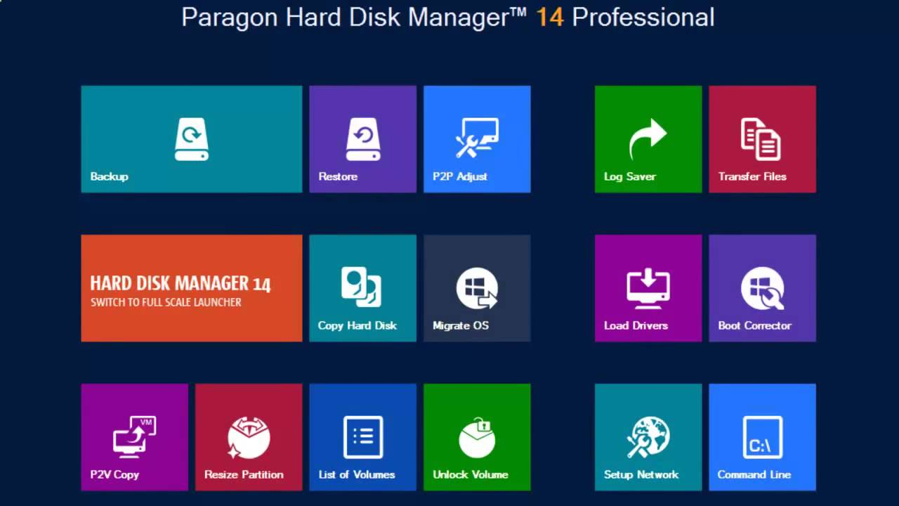 Hard Disk Manager 15 Backup Recovery