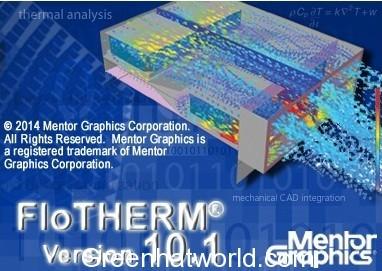 Mentor Graphics FloTHERM 10.1 Software