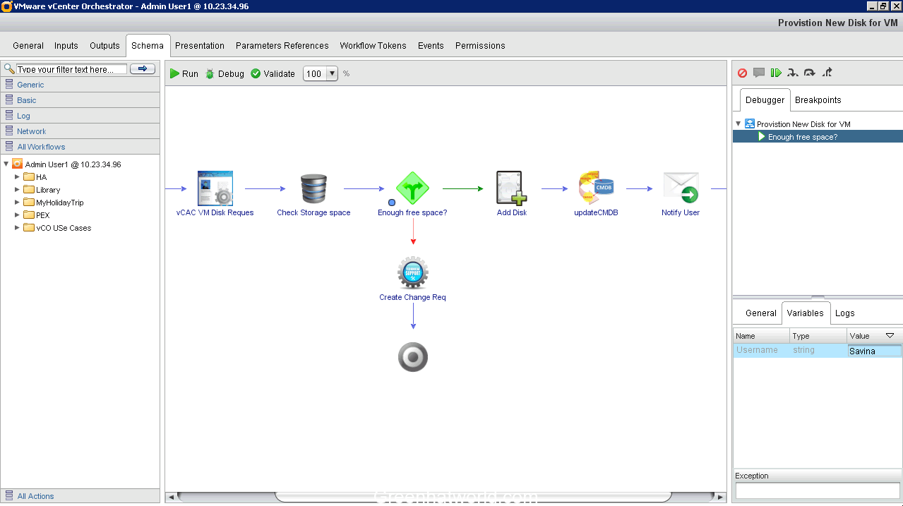 vmware vco appliance