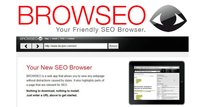 Download BrowSeo Free