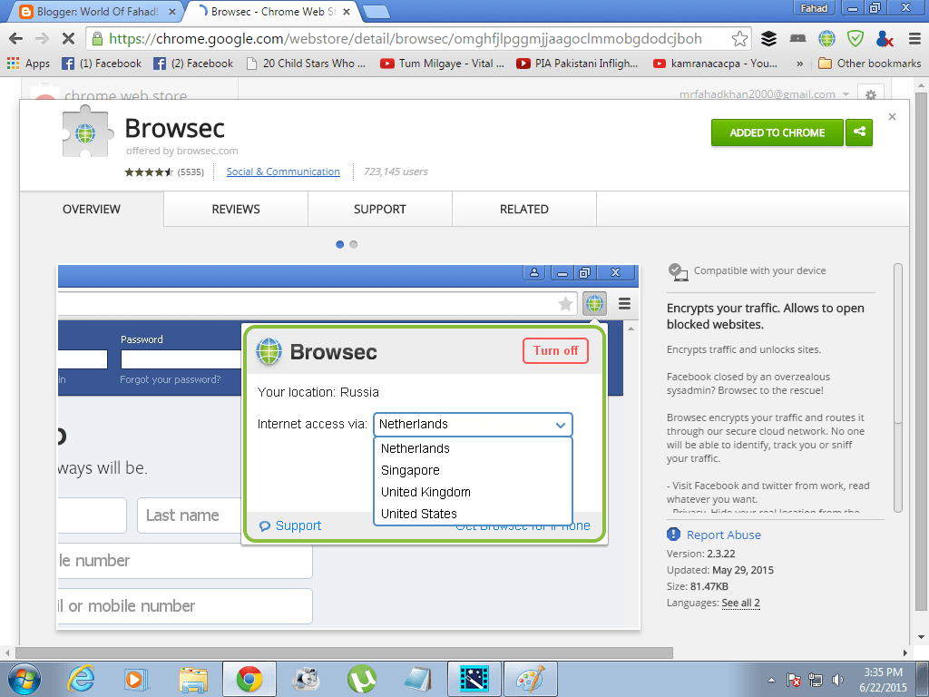 Download CRX for Chrome Browsec 3.3.21 Extension Free
