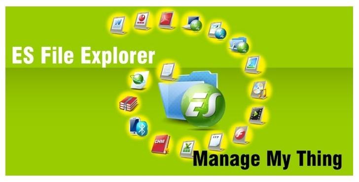 Download ES File Explorer File Manager APK File