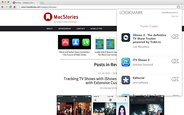 Download Lookmark CRX Extension for Chrome Free