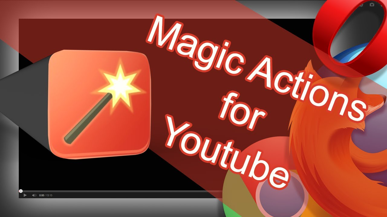 Download Magic actions for YouTube Extension CRX for Chrome