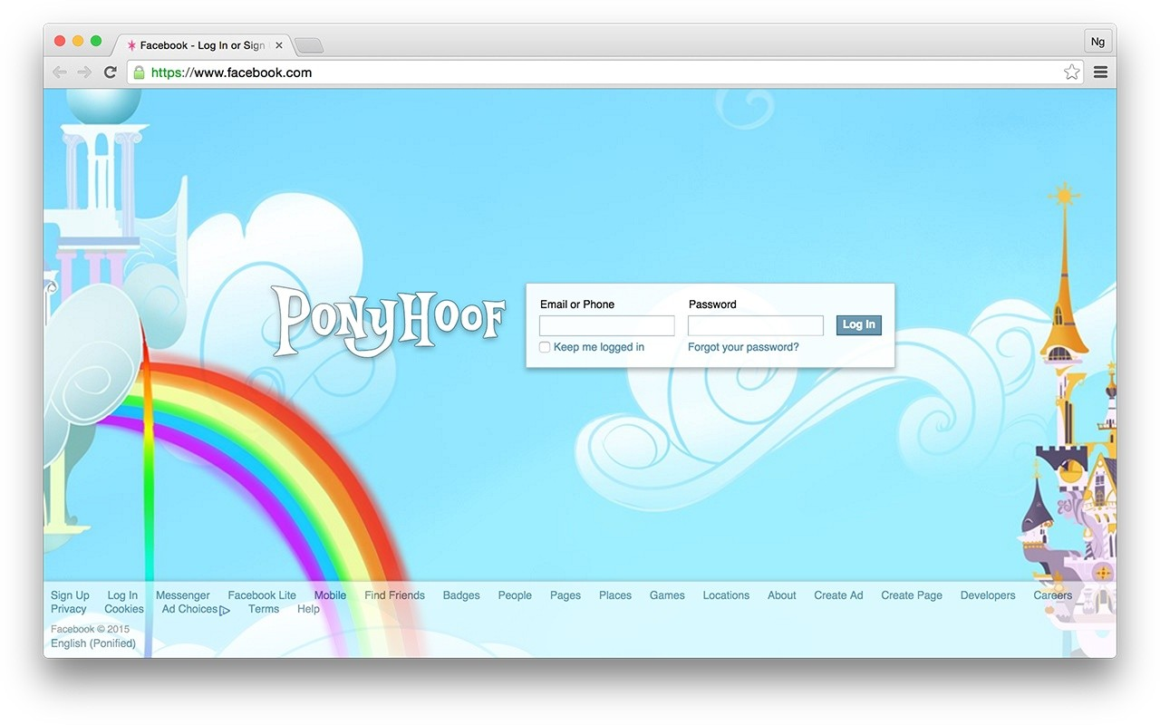 Download Ponyhoof Extension CRX for Chrome