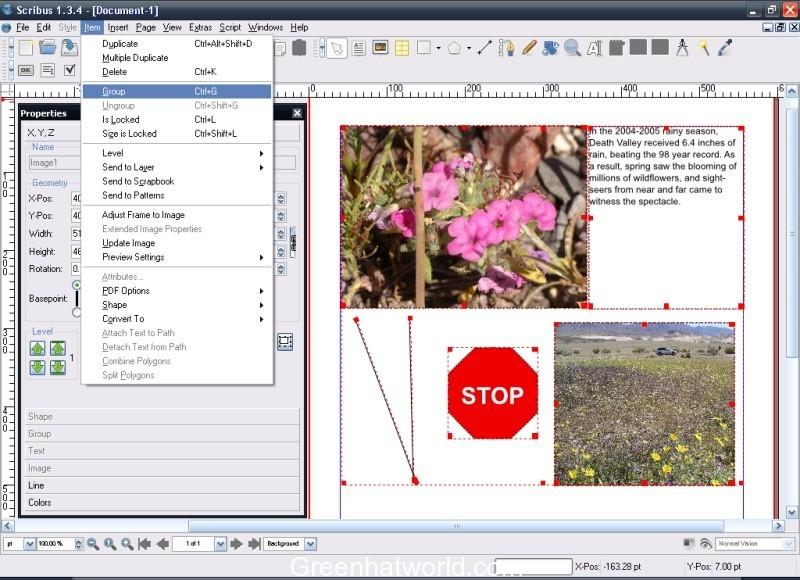 Download Scribus 1.5.1 Beta Software Free