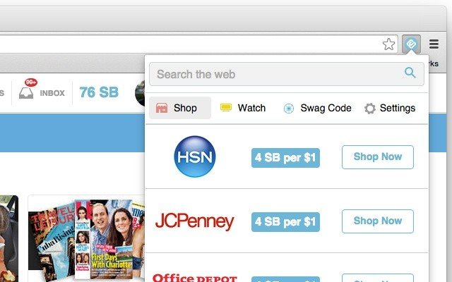 Download SwagButton Extension CRX for Chrome