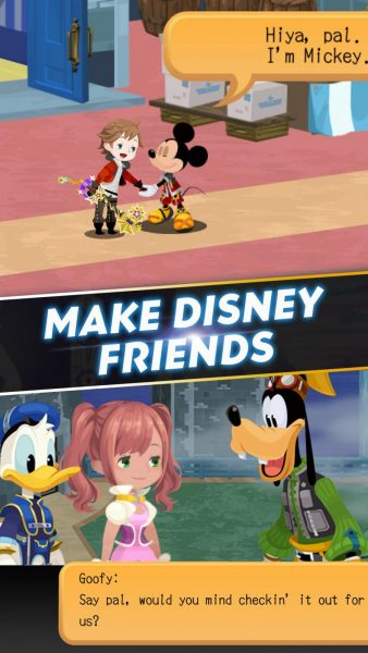 Download KINGDOM HEARTS Unchained χ APK File