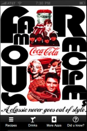 Download Famous Coca Cola Recipes Kitchen App APK File