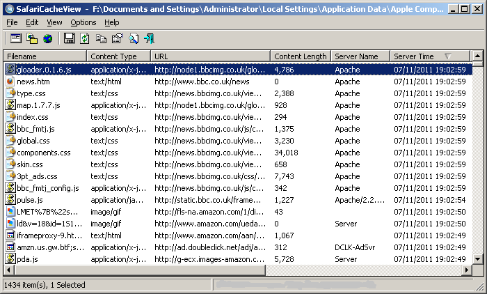 Download Safari Cache Viewer Newest Software