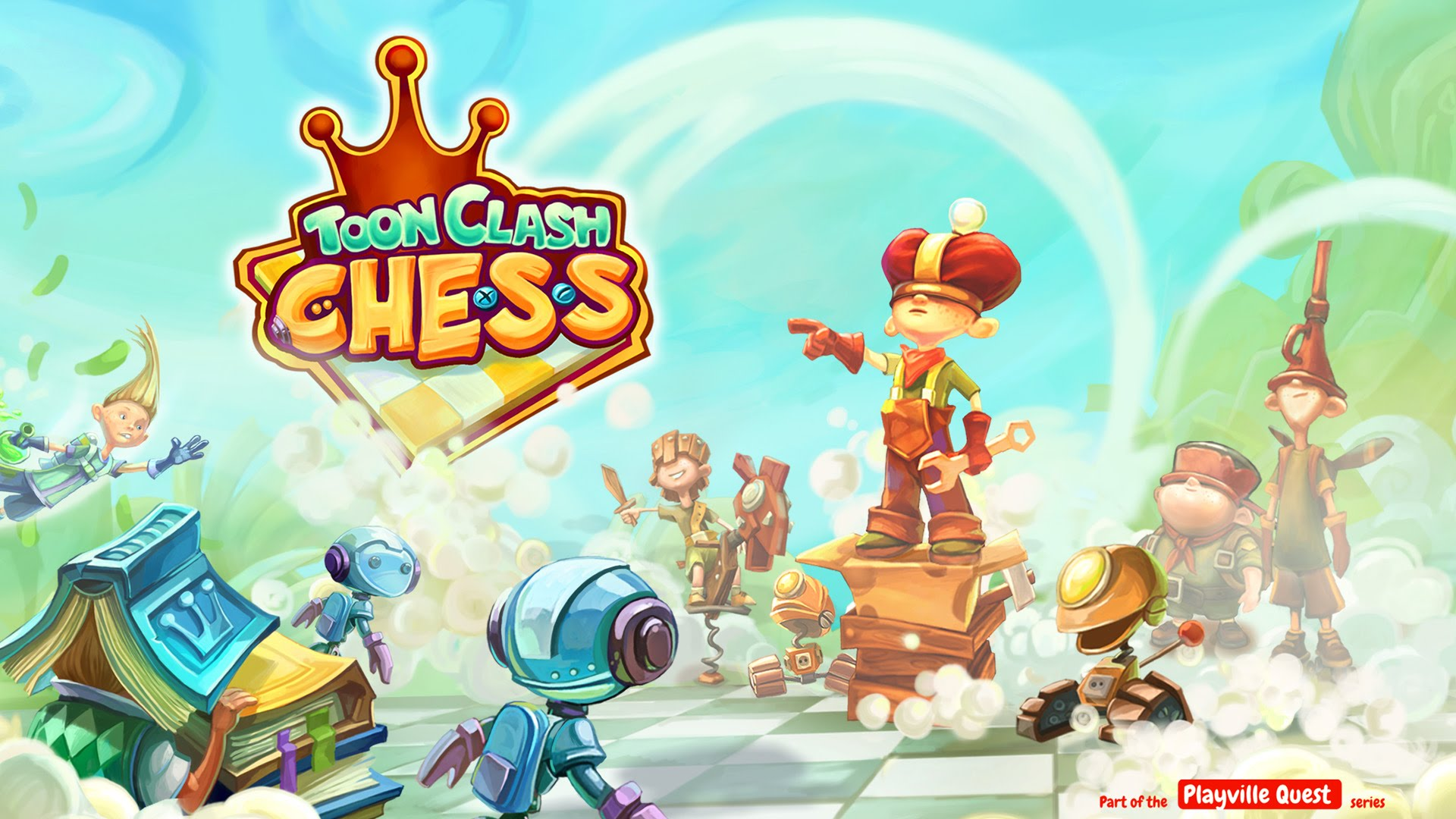 Download Toon Clash Chess Board Game APK File