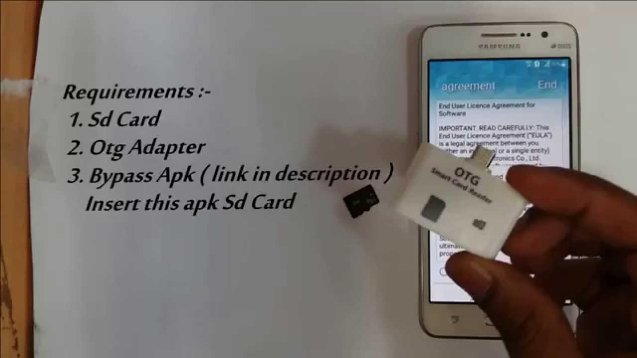google lock bypass CARD