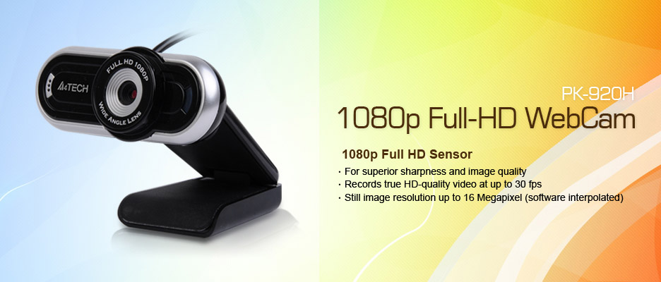 Download A4Tech PK-920H Webcam Driver Free