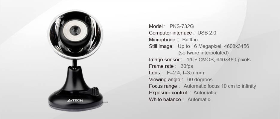Download A4Tech PKS-732G Webcam Driver Free
