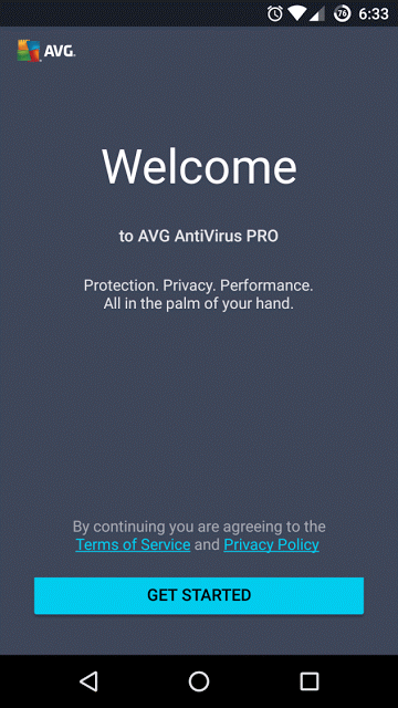 Download AVG Antivirus Tablet Security Pro APK Android App