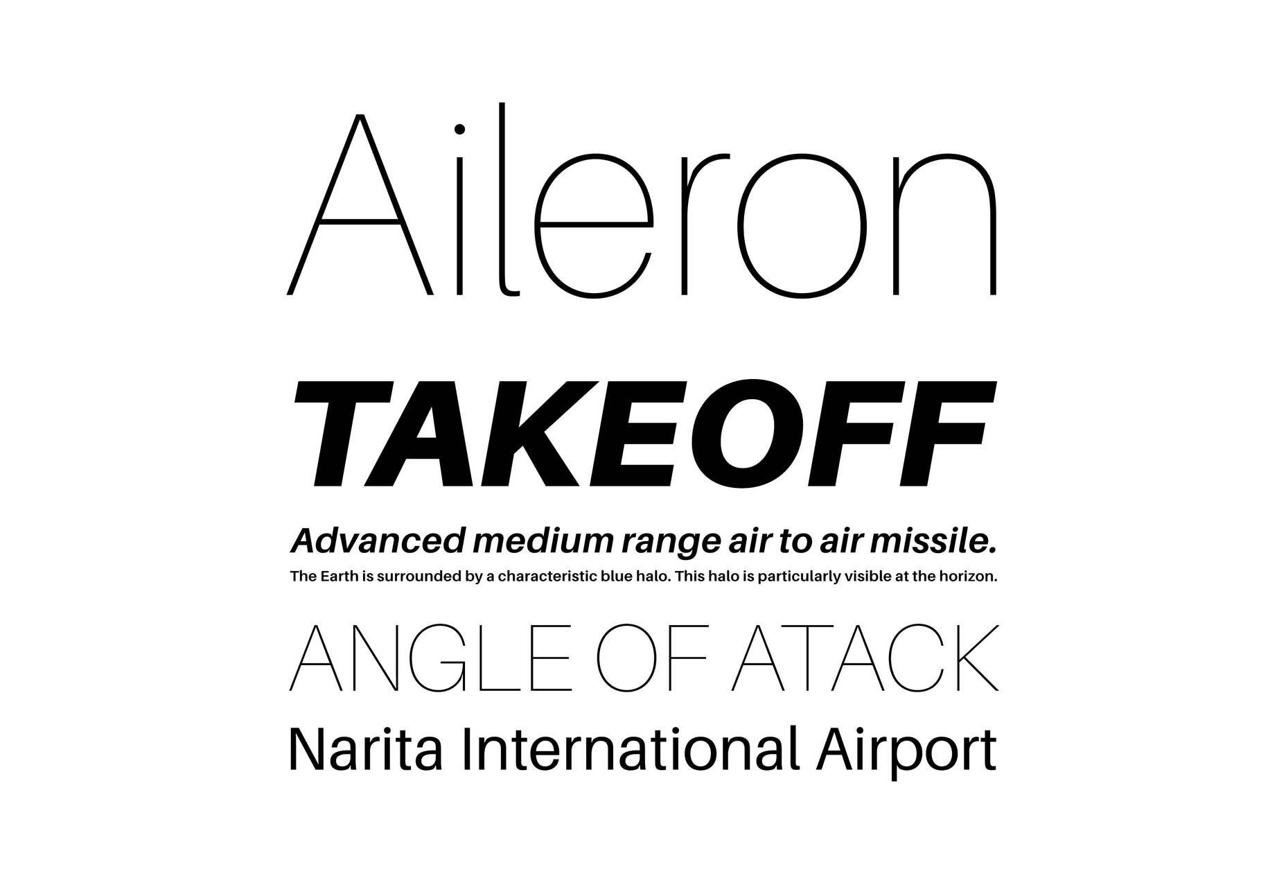Download Aileron Font Free
