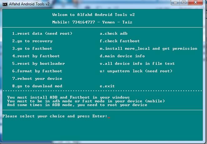 Download Alfahd Android Tools Free
