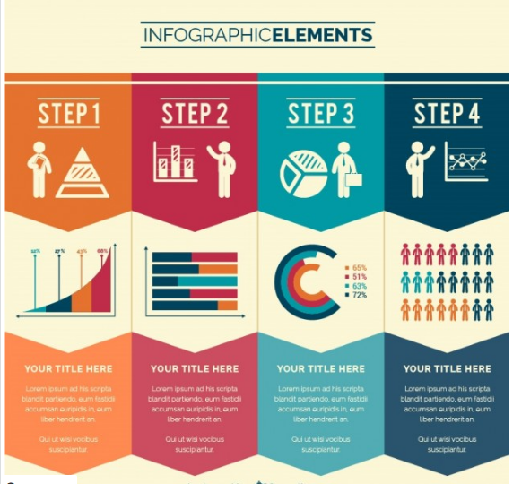 Download Business Steps Infographic Free