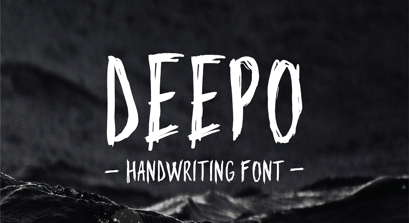 Download Deepo Handwriting Font Available Free