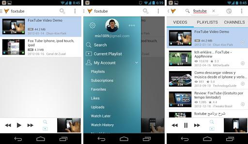 Download FoxTube YouTube Player APK App Latest