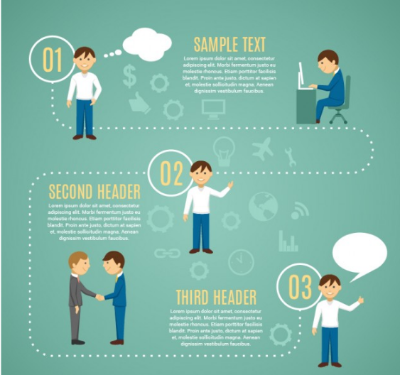 Download Looking for Job infographic Template Free