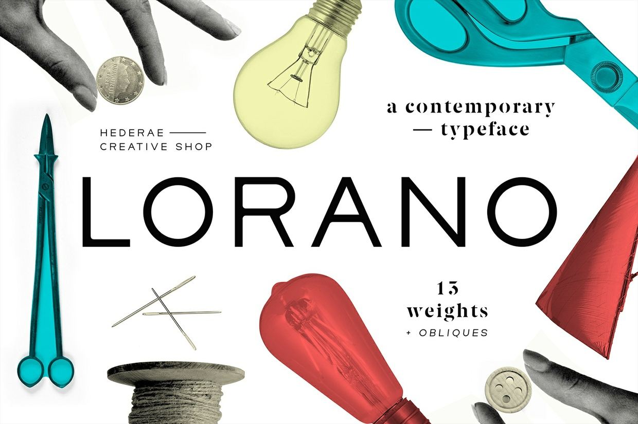 Download Lorano Typeface Free Fonts