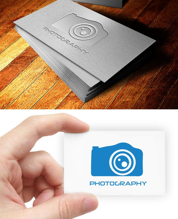 Download Photography Logo Template PSD & EPS Free
