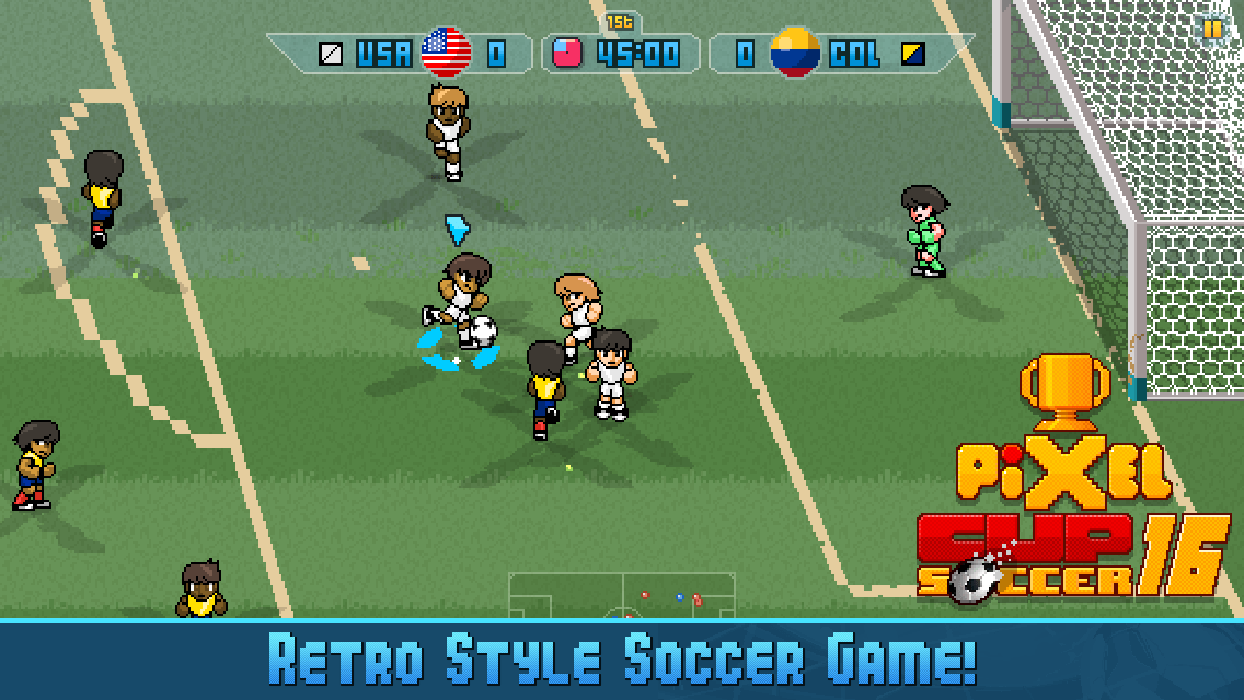 Download Pixel Cup Soccer 16 Latest Football Available
