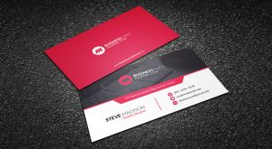 Download Red Hot Business Card Template Free