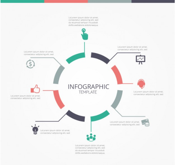 Download Round Infographic Template Free