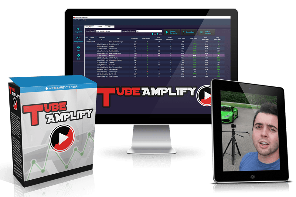 Download Tube Amplify Free YouTube Ranking Software