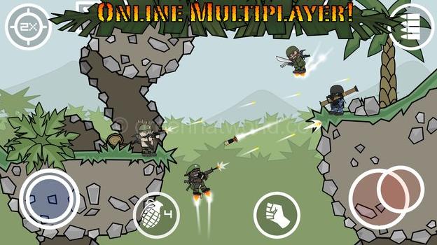 Mini Militia Unlimited Health & Ammo Nitro Pro Pack Apk