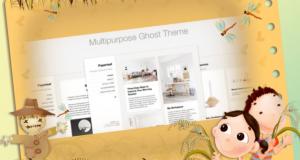 Blogging Ghost Theme