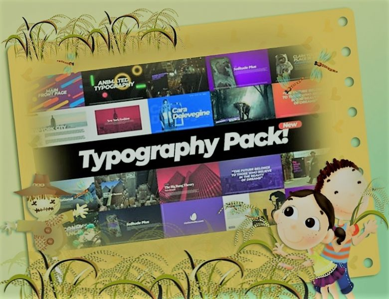 Download Typography Pack After Effects Project
