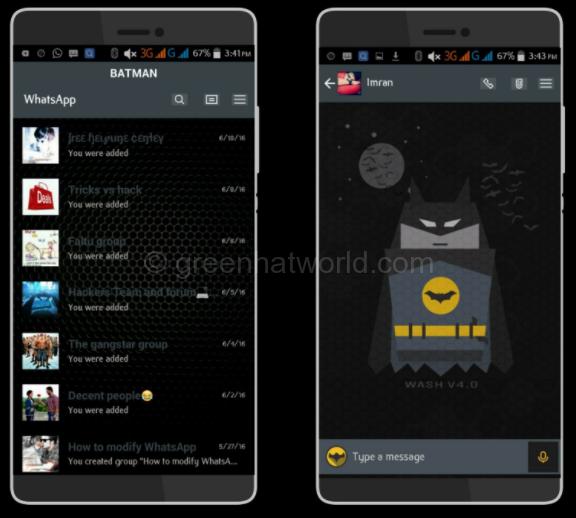 Whatsapp Batman Messenger For Android